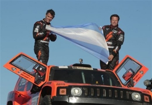 Flag from Argentina