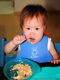 Mash chicken and fish good for babies