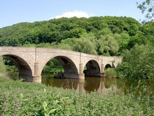 Kerne Bridge over the River Wye