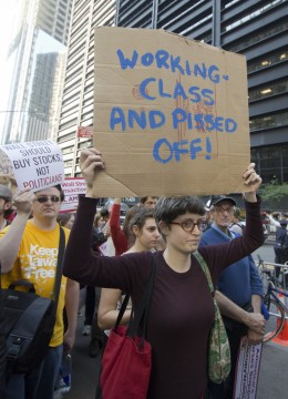 Occupy Wall Street Series - Working Class/Bob Jagendorf