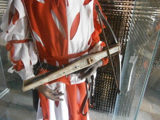 Wrong type of crossbow, this one is from a much later period.