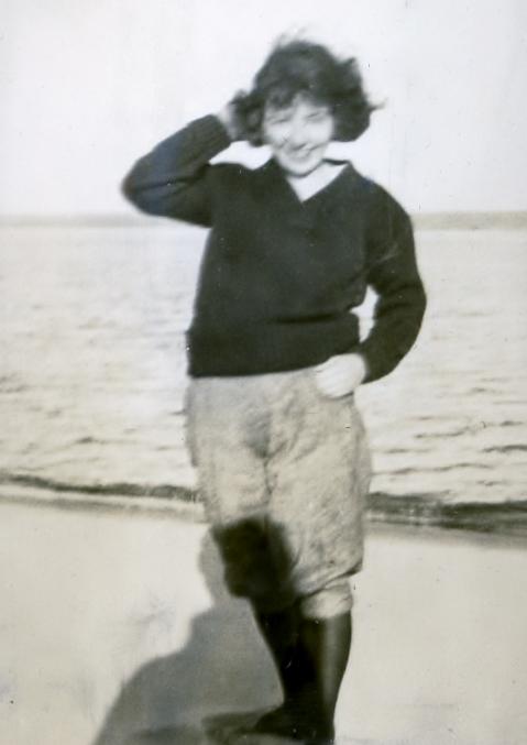 Maggie on Munising Bay