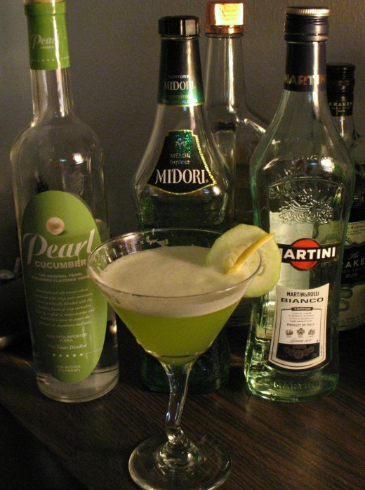 Cucumber Melon Cocktail #2
