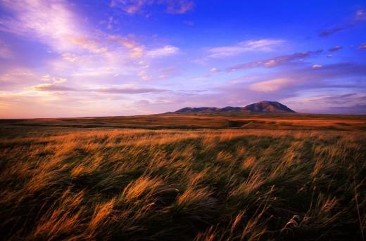 Sweet Grass Hills, Montana