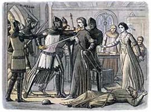 The Arrest of Sir Roger Mortimer