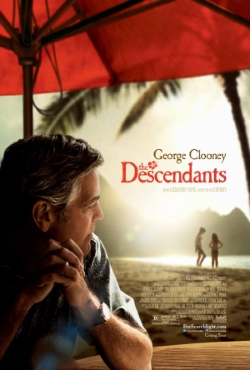 The Descendants poster (2011)
