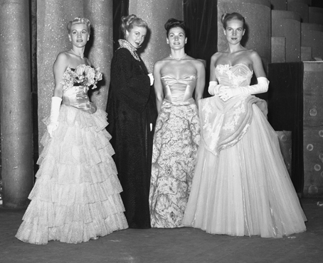 Evening Gowns, 1947