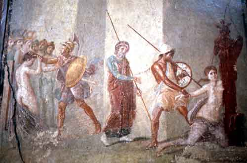 Trojan women from Pompeii