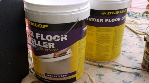 5 This is the floor leveller.