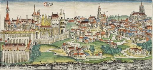 Buda Castle in 1493