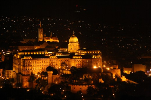 Buda Castle by night