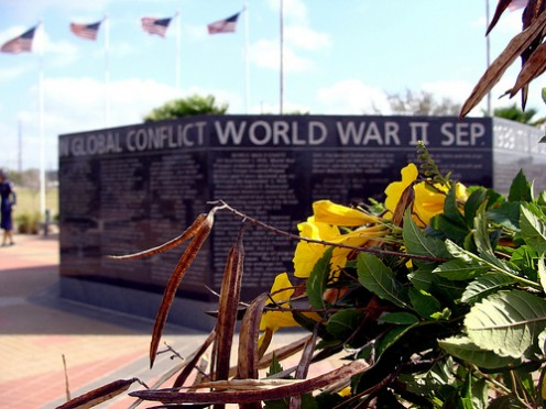 World War II Memorial in McAllen