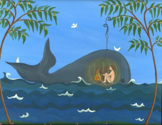 Jonah in the Whale