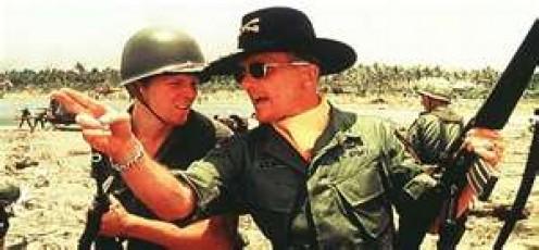 Robert Duvall plays Lieutenant Colonel Bill Kilgore