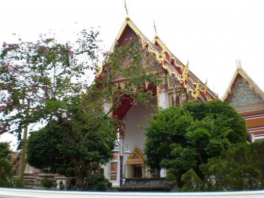 Wat Pho Buddhist Temple, Bangkok, Thailand.