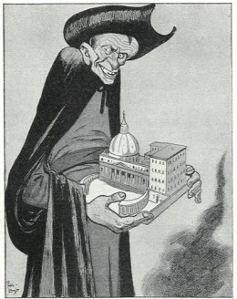 anti-Jesuit cartoon, 1902