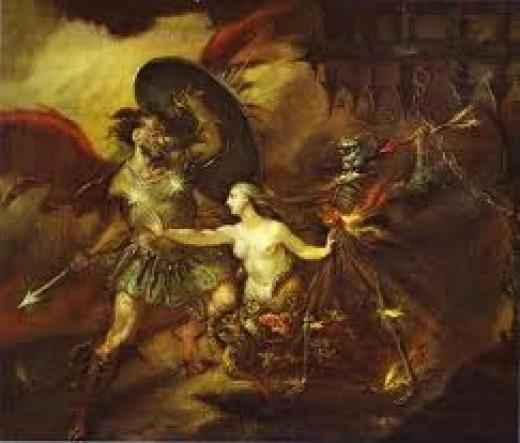 William Hogarth, Sin, Satan, and Death