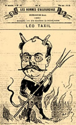Leo Taxil can be made into a devil, too.