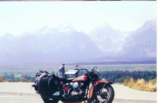 Knucklehead at Grand Tetons