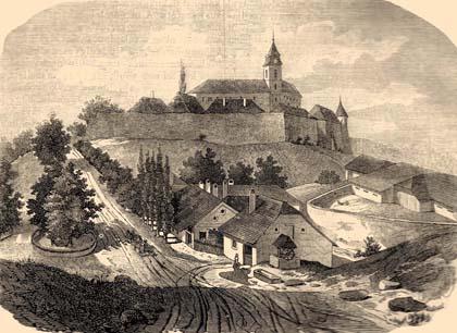 Bernstein (Borostyánkő) Castle, Austria