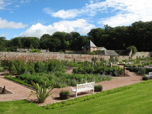 The Fyvie Castle Kitchen Gardens