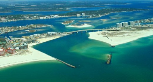 The Pass of Orange Beach