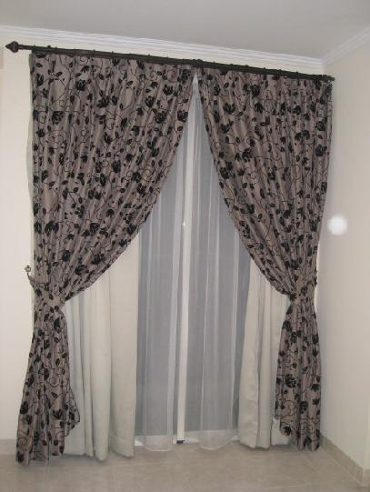 Curtain in living room