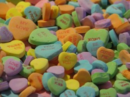 Candy Hearts are always yummy!