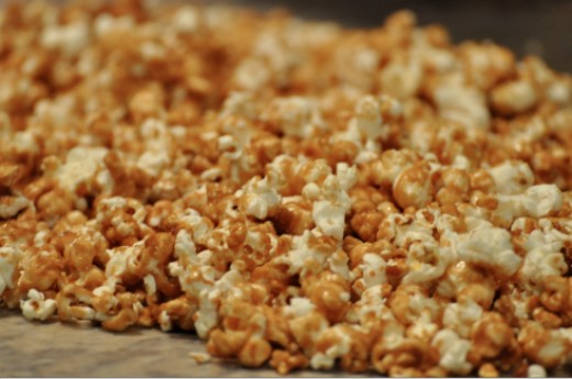 Recipe How to Make Homemade Caramel Corn