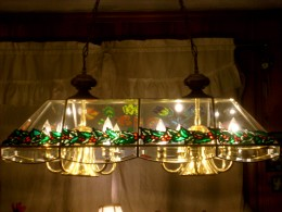 Use frame on windows or lamps.  If used on lamps, monitor to be certain the heat from the lamp is not too hot for your decoration.