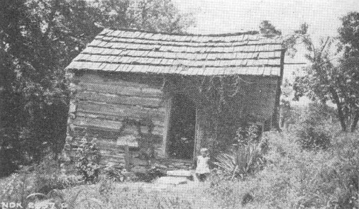 Poor dirt farmer's house in Appalachia. United States Tennessee Valley Authority (public domain)