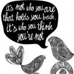 You are what you think you are
