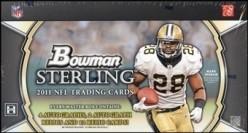 2011 Bowman Sterling Football Box Review