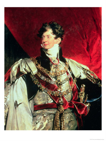 The future King George IV, when he was merely regent in George III's madness