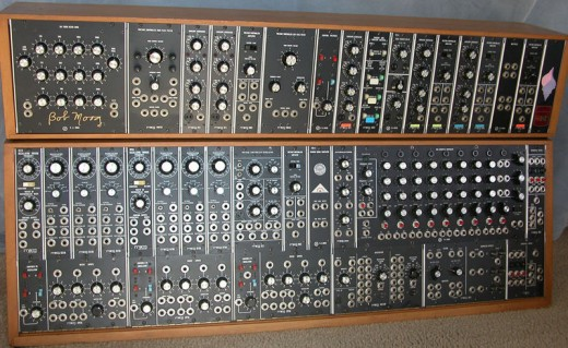Early Moog Synthesizer.