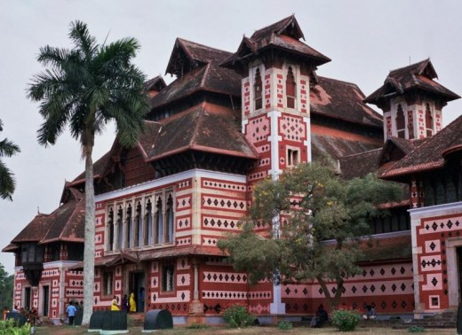 Napier museum is another place to see in Trivandrum