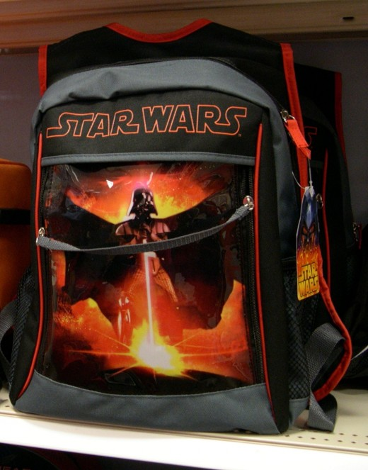 A Star Wars backpack