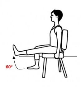Short arc quad exercise
