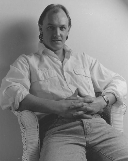 My husband - Clarry Hopper 1957 - 2003