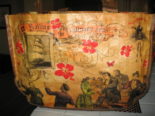 One of my favorite bags from my favorite store. This bag is a work of art!