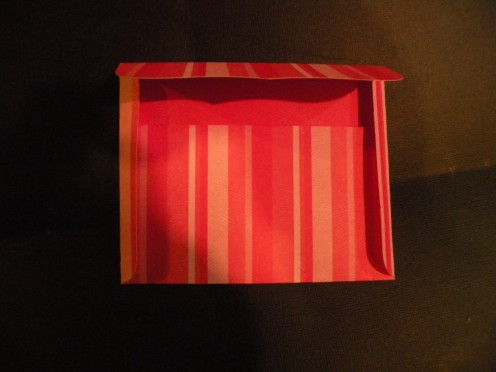 Envelope Top Flap folded