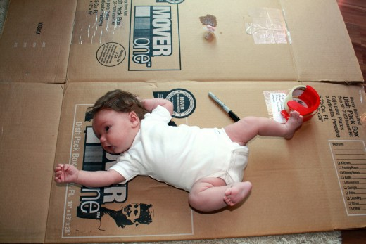 Packing at 5 Weeks Old