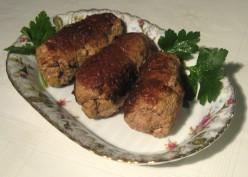 Hungarian Food - Stuffed Braised Steak (Töltött Rostélyos)