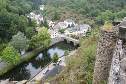 View of Esch-sur-Sûre