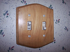 Replace old light switch plate covers for an instant update