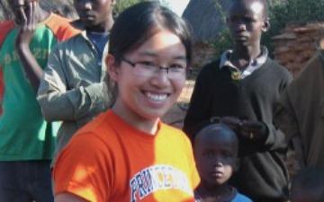 19 year old Eden Full inventer of SunSaluter
