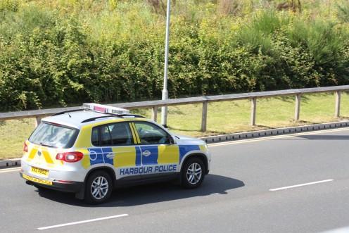 Belfast Harbour Police car