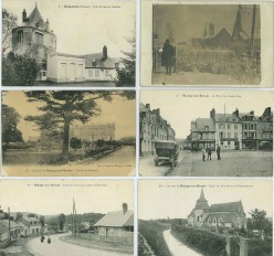 Postcards from World War One - France