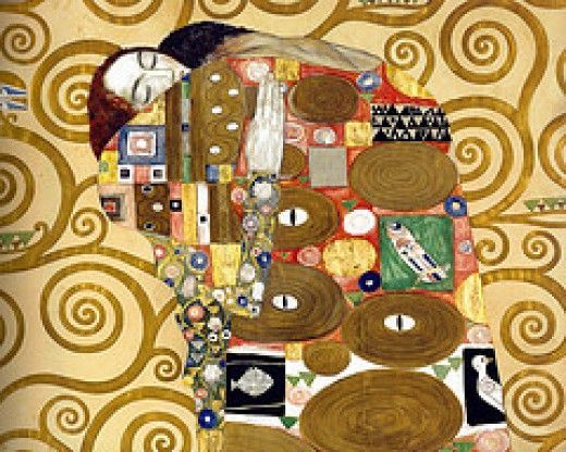 Fulfilment - Gustav Klimt from mbell1975 Source: flickr.com