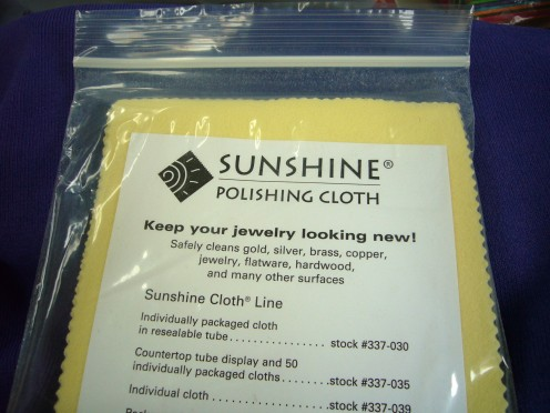 Excellent Jewelry Polishing Cloth